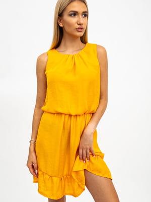 Платье горчичного цвета | 5484502
