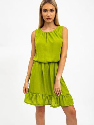 Платье салатового цвета | 5484505