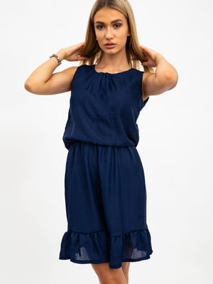 Платье синее | 5484506