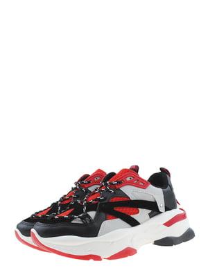 Кроссовки красно-черные | 5474894