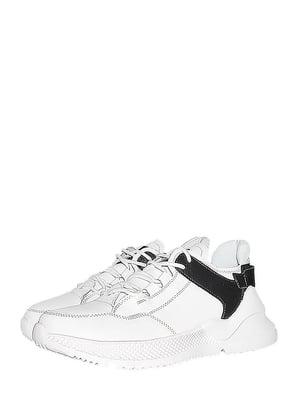 Кроссовки бело-черные | 5481878
