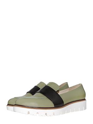 Туфлі оливкового кольору | 5484761