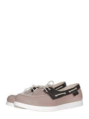 Туфлі кольору кави | 5484763