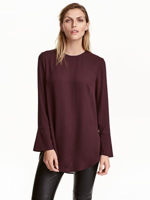 Блуза сливового цвета | 5485079