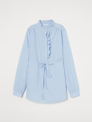 Блуза голубая | 5485231