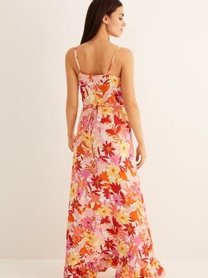 Сукня в квітковий принт   5485698