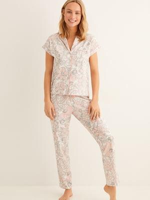Пижама: рубашка и брюки | 5485736