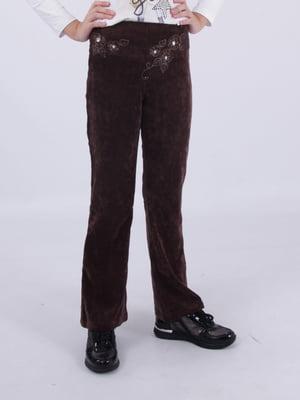 Штани коричневі   5485798