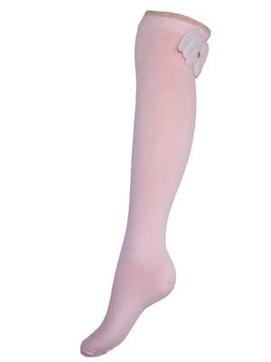 Гольфи рожеві з декором | 5485953