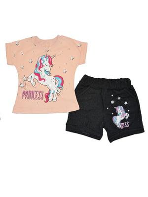 Костюм: шорти та футболка | 5485978
