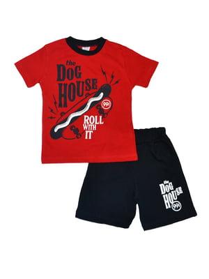 Костюм: шорти та футболка   5485969