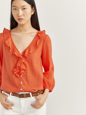 Блуза оранжевая | 5485855