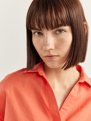 Блуза оранжевая | 5485878