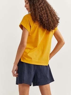 Футболка желтя | 5485825
