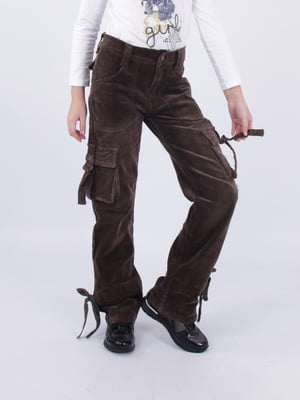 Штани темно-коричневі | 5485800