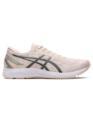 Кроссовки бело-розовые | 5485773