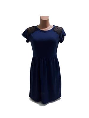 Сукня темно-синя | 5486368