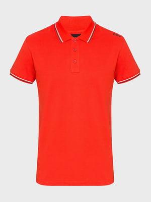 Футболка-поло оранжевая | 5397965