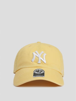 Бейсболка желтая   5398367