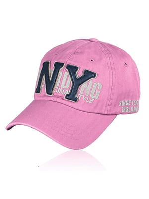 Бейсболка рожева з малюнком | 5487320