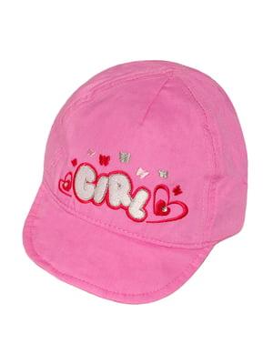 Панамка рожева з малюнком | 5487421