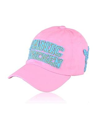 Бейсболка рожева з малюнком | 5487451
