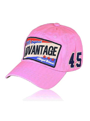 Бейсболка рожева з малюнком | 5487492