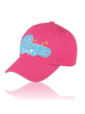 Бейсболка рожева з малюнком | 5487512