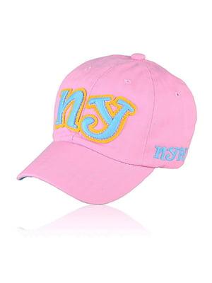 Бейсболка рожева з малюнком | 5487518