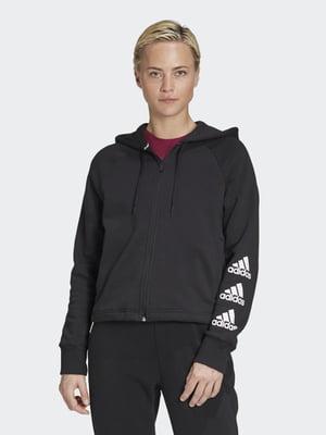 Толстовка черная с логотипом   5487724