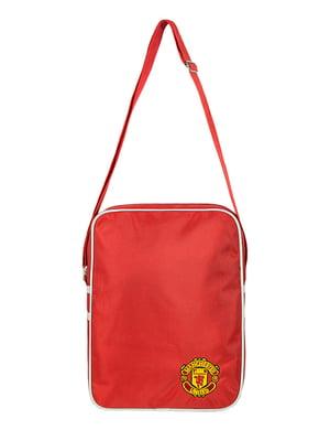 Сумка червона з логотипом   5488075