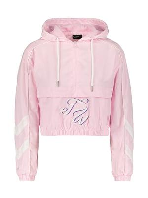 Кофта рожева в принт | 5488238