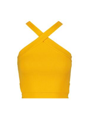Топ горчичного цвета | 5488263