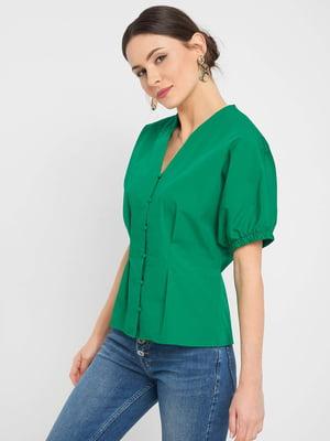 Блуза зелена | 5488485