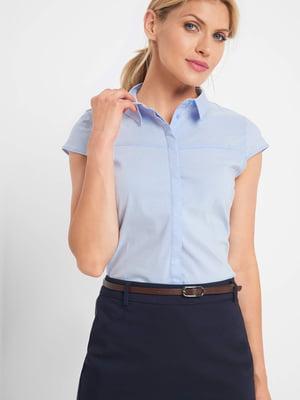 Рубашка голубая | 5488493