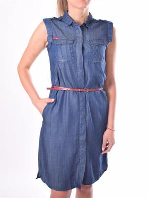 Платье синее | 5488897