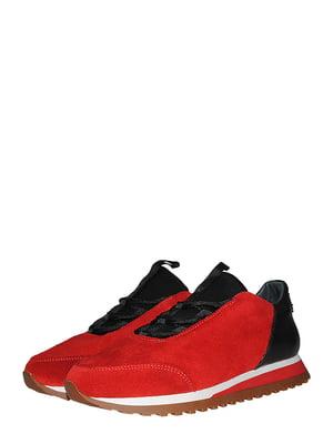 Кросівки червоно-чорні | 5485277