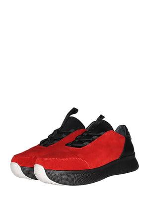 Кросівки червоно-чорні | 5485279