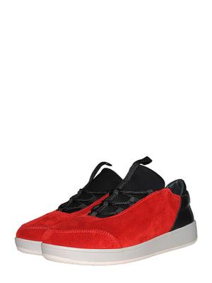 Кроссовки красно-черные | 5485281