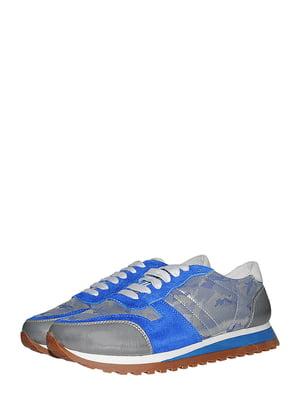 Кросівки сіро-сині | 5488007