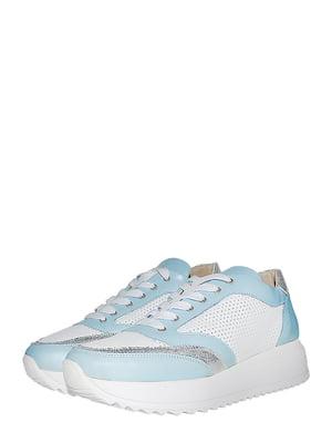 Кросівки блакитні | 5488008