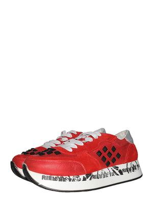 Кросівки червоні | 5488009