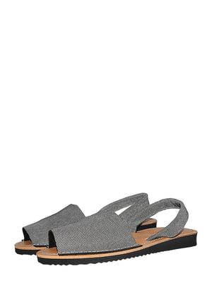 Босоніжки сріблястого кольору | 5488033