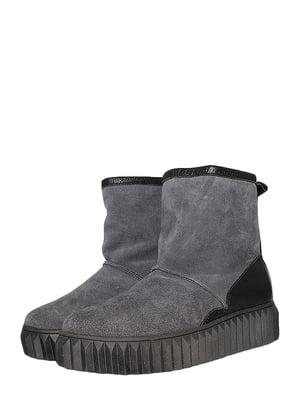 Ботинки серые | 5490115