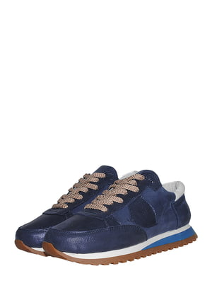 Кроссовки синие | 5490154