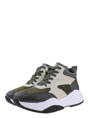 Ботинки зелено-пудрового цвета | 5490262