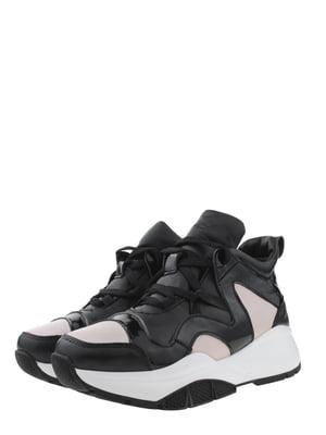 Ботинки черно-пудрового цвета | 5490264
