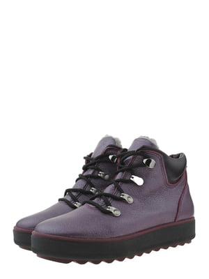 Ботинки фиолетовые | 5490266