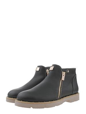 Ботинки цвета хаки | 5490299