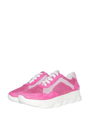 Кросівки малинового кольору | 5490351